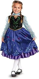 Disney`s Frozen Anna Deluxe Girl`s Costume, 4-6X