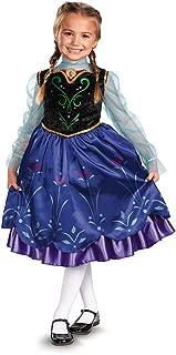 Disney's Frozen Anna Deluxe Girl's Costume, 7-8