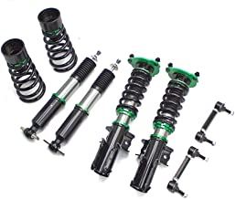 Rev9 R9-HS2-053 Hyper-Street II Coilover Suspension Lowering Kit, Mono-Tube Shock w/ 32 Click Rebound Setting, Full Length Adjustable