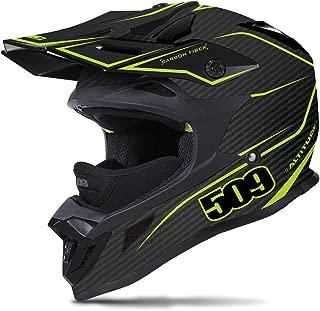 509 Lightweight Carbon Fiber Altitude Helmet - Matte Lime (LG)