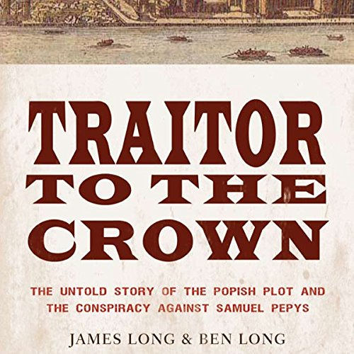 Traitor to the Crown audiobook cover art