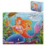 storefront 100 Puzzleteile, Tierpuzzles, Lernspielzeug für Kinder im frühen Kindesalter, Eltern-Kind-Spiele, 3-4-5-6-7-9 Jahre altes Spielzeug