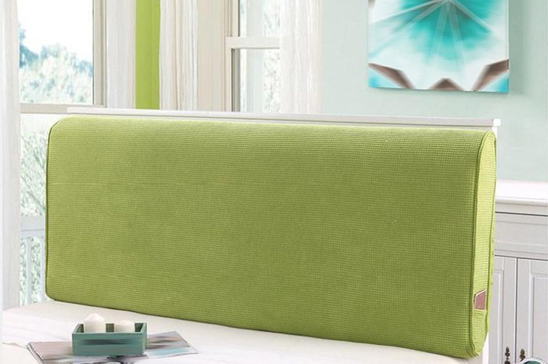 Coussin, sac doux et doux Le grand dossier peut être démoli 120x10x60cm ( Couleur   Vert , taille   150x10x60cm )