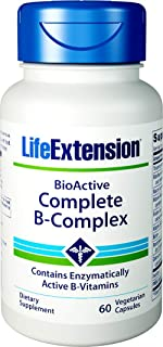 海外直送品Complete B-Complex, 60 Vcaps by Life Extension