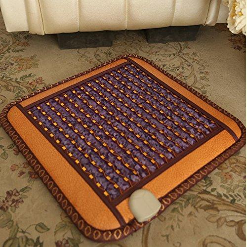 kele Riscaldamento campo magnetico Giada cuscino Materasso di calore terapia terapia magnetica-A 45x45cm(18x18inch)