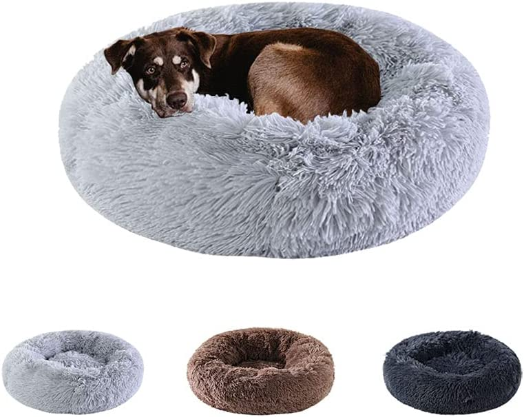 Kimpets Snuggle Dog Chicago Mall Bed In a popularity Calming Washable Machine Comfy