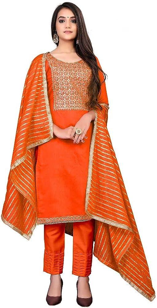 Readymade Salwar Suit for Women Cotton Fabric Salwar Kameez for Women and Girls