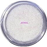 【jewel】 超微粒子ラメパウダー(白/オーロラホワイト) 256/1サイズ 2g入り グリッター レジン&ネイル用