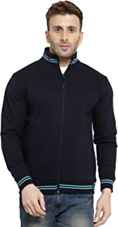 Scott International Men's Cotton High Neck Sweatshirt