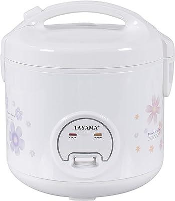 Tayama TRC-10R - Olla automática para arroz, 10 tazas, color blanco
