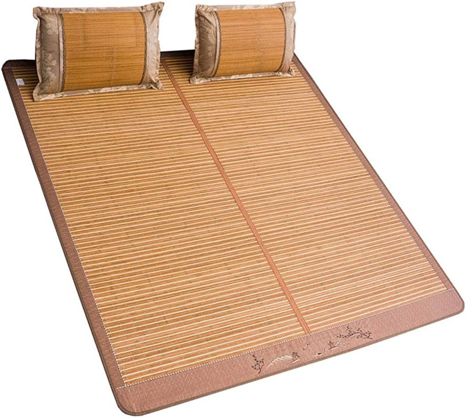 Bamboo Summer Sleeping Mat Foldable Sleep-lite Bedding Baby, Student Dorm, Family - Baby Bed Twin Full(Size   71 79 ) (Size   59 (W)77 (L))