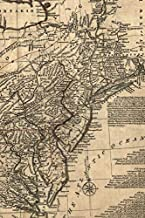 A general map of the middle British colonies in America, viz. Virginia, Maryland, Delaware, Pensilvania, New-Jersey, New York, Connecticut, and Rhode ... (50 pages/25 sheets) (Poetose Notebooks)