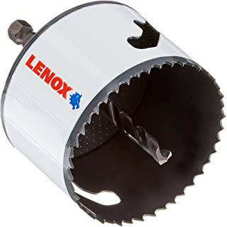 LENOX Tools Bi-Metal Speed Slot Arbored Hole Saw with T3 Technology, 2-7/8