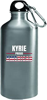 Kyrie Proud American 4th July Independence Day Gift - Water Bottle