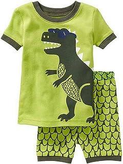 Backbuy Conjunto de Pijama para Niños Ropa de Dormir de