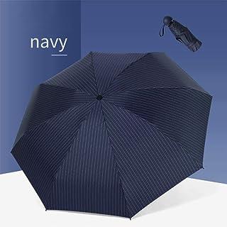 Sun Umbrella Female Sunscreen Anti-Ultraviolet Small Fresh Umbrella Rainproof Dual-Use Folding Umbrella,Navy