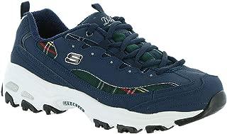 Skechers Women's DLites Mountain Alps Fashion Sneakers Navy/Green 9