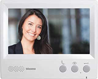 BTicino, 330851–Video Intercom Handsfree, 7inch Screen, Grey
