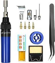 RuleaxAsi 13 في 1 13 قطعة طقم لحام حديد 26 مل مجموعة إلكترونيات كاملة أداة لحام قلم إصلاح السيارات الغاز الشعلة في الهواء ...
