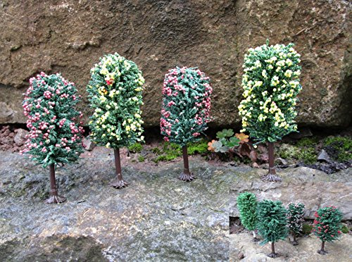 Original Jordan Bäume Obstbäume mit HO Füßen 10-12cm 8er Set
