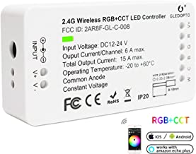 2 ID RGB CCT ZigBee Controller LED Strip Light Smart Controller DC12-24V LED Strip ZLL APP Controller RGBW RGB+CCT Compati...