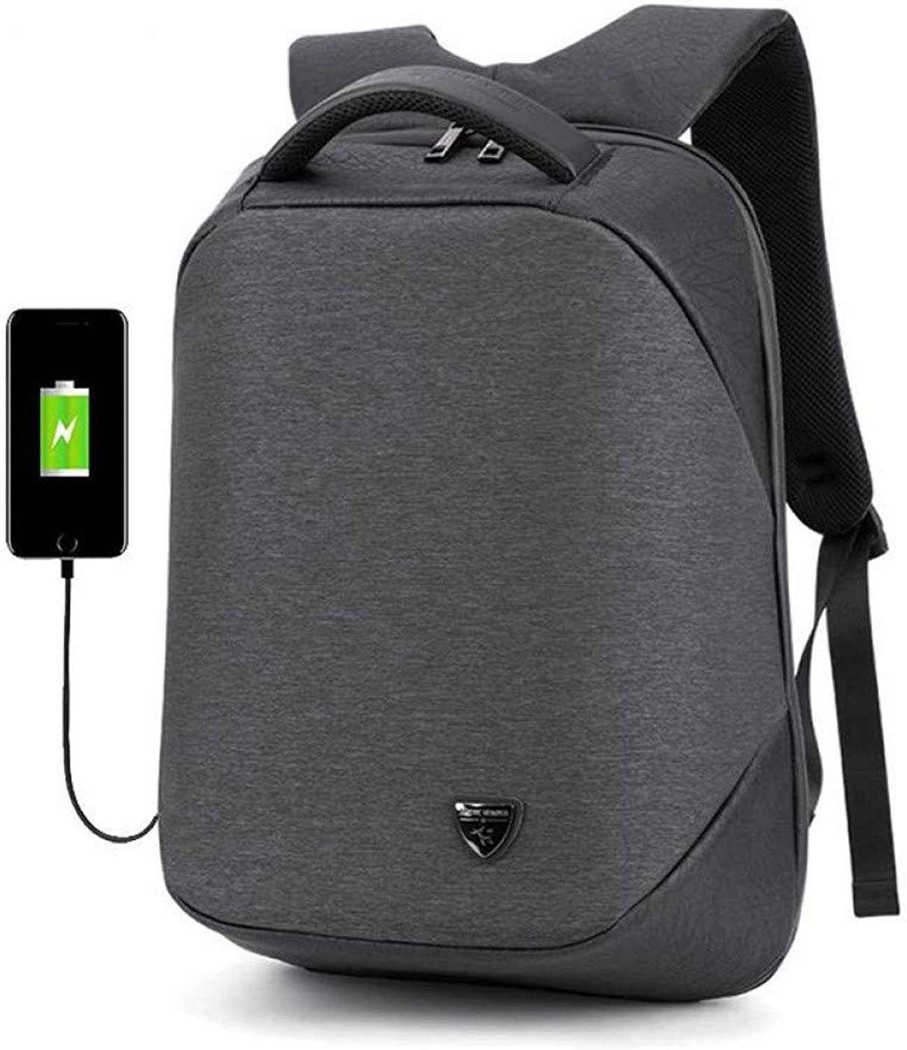 HUYANNABAO Men Multifunctional Business Computer Backpack Travel Shoulder Bag USB Charging Men's Bag