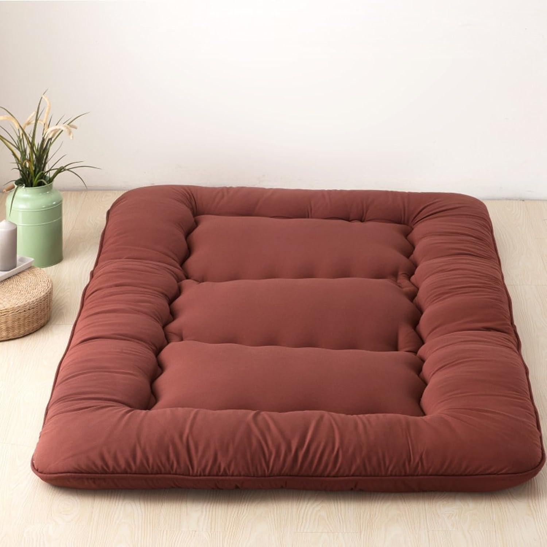 Futon Japanese Floor Tatami Mattress, Foldable Sleeping Mattress Topper Mat Pad Cushion mats for Yoga Meditaion Bay Window-K 200x220cm(79x87inch)