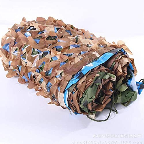JIAYUAN Filet de camouflage, filets de camouflage pour la forêt, idéal pour les parasols militaires, camping, tir, partie de chasse, décoration (taille   9.8×26f 3×8m)