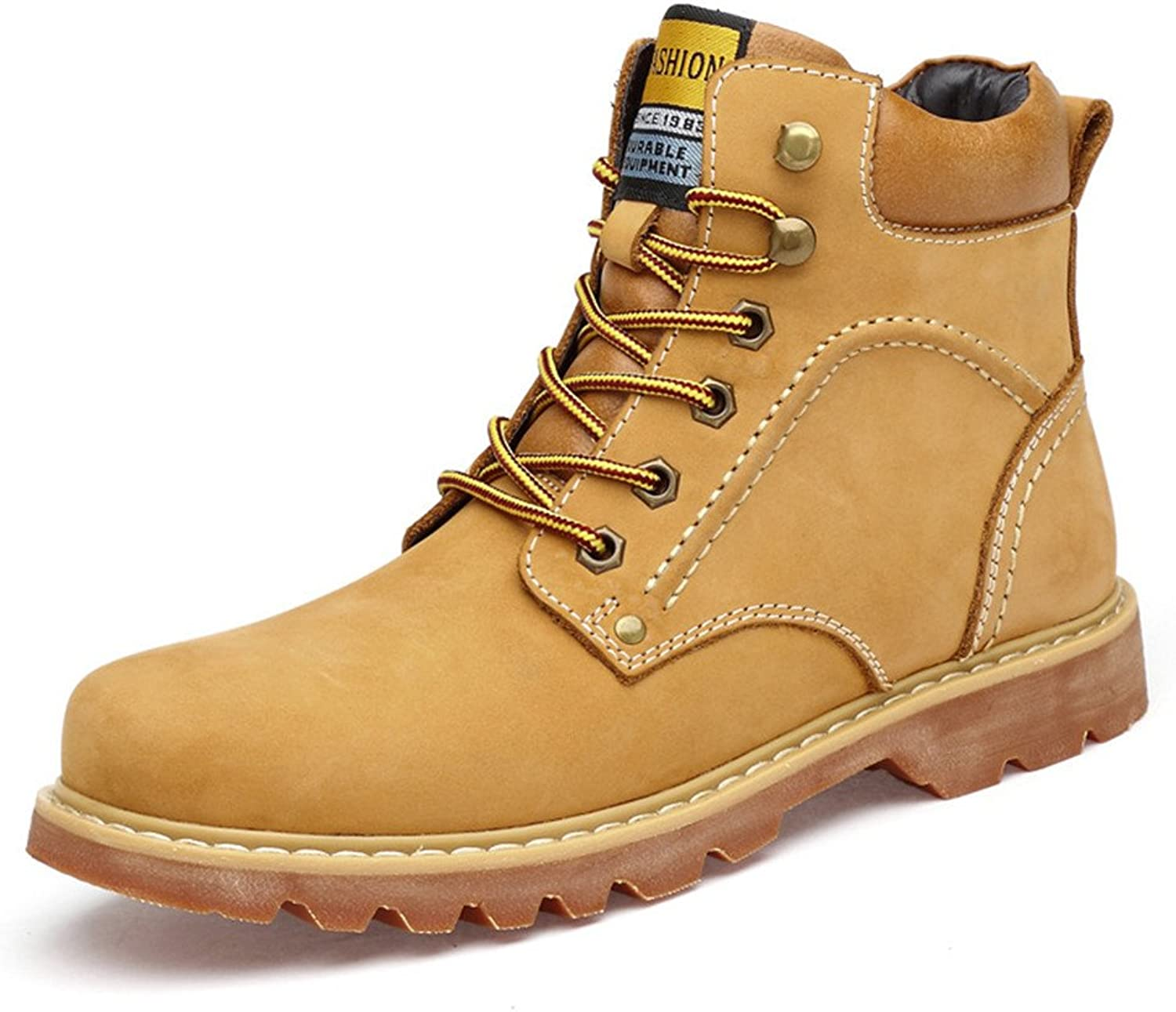 ZQ@QXFall leisure boots high fashion warm large size men's Martin boots