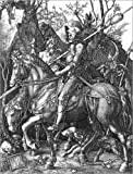 Poster 60 x 80 cm: Ritter, Tod und Teufel von Albrecht