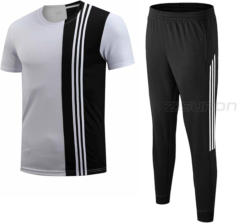 New Sports Gorgeous Suits Men Sportpants Shrit Long-awaited Joggingzip Running
