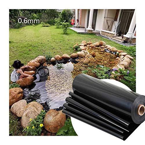 GDMING Malla Flexible para Estanques, 0.6mm Espesar Pieles De Estanque Resistente A Perforaciones Anti-UV Impermeable por Estanque De Jardín Fuentes De Arroyos, Personalizable