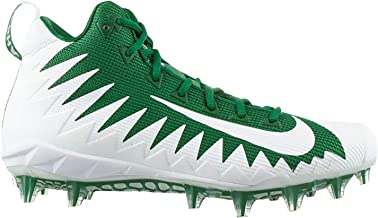 green white football cleats