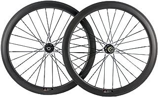 Queen Bike 700c Disc Brake Wheelset Tubular with Disc Brake Hub Disc Braking Wheelset Carbon Disc Wheel