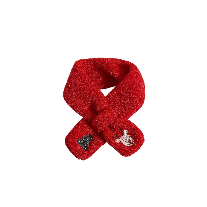 Kids Beanie Lovely Lightweight Knitted Hat Scarf Gloves Unisex Christmas Tree 5