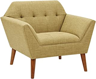 INK+IVY Lounge Yellow Multi, Modern Mid-Century Style Living Room Sofa Furniture
