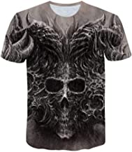 XIAOBAOZITXU T-shirt met digitale print, korte mou...