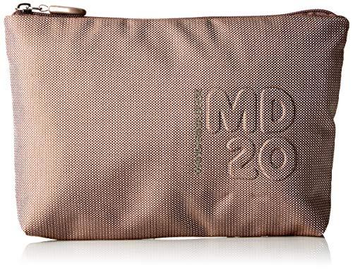 Mandarina Duck Md20, Pochette da Giorno Donna, Beige/Taupe, 10x21x28.5 cm (B x H x T)