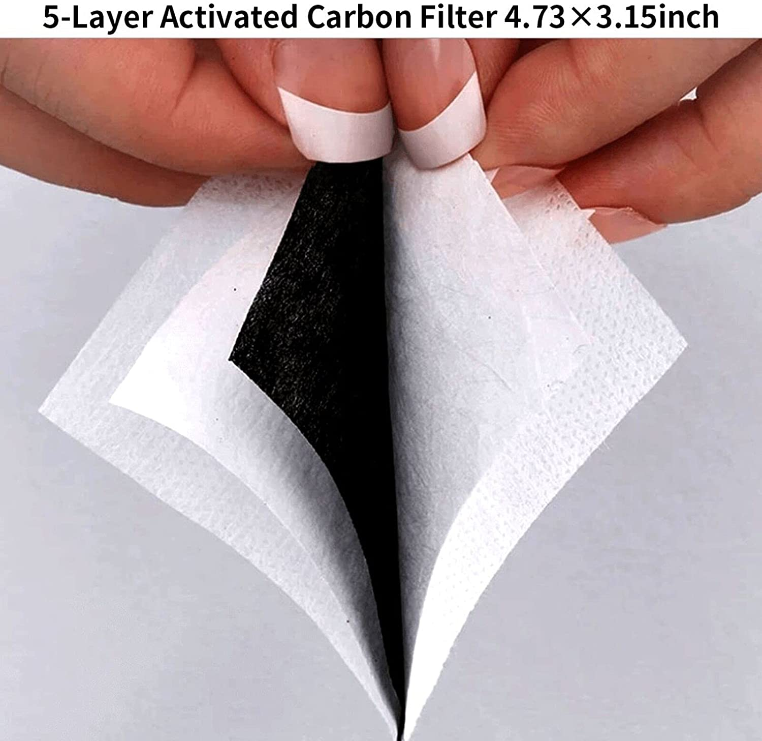 3PCS with 6 Filters Reusable Face Mask Washable Adjustable Masks for Men Women Boys Girls Made in USA