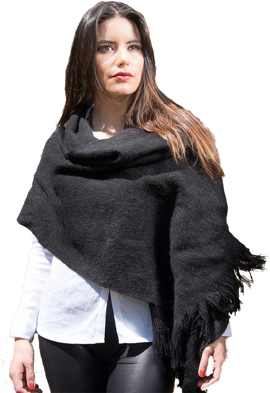 Gamboa Alpaca Shawl  Black