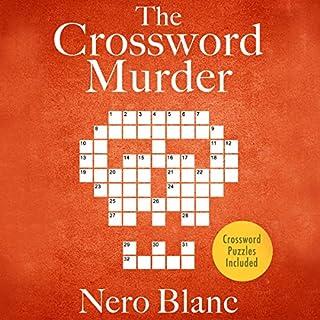 The Crossword Murder audiobook cover art