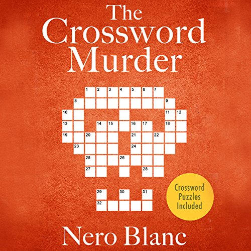 The Crossword Murder audiobook cover art