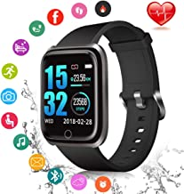 Fitness Tracker, Smart Watch Fitness Watch Activity Tracker with Sleep Monitor Heart Rate Measure IP67 Waterproof Sports Watch, Smartwatch for Android iOS Men Women Kids