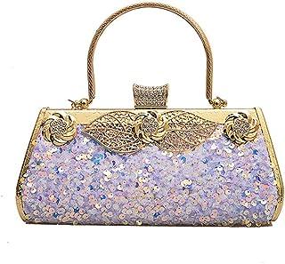 HMNS Damen Clutch Taschen Abendhandtasche Elegante Geldbörse für Party, Hochzeit, Abschlussball, Bankett, Cocktail