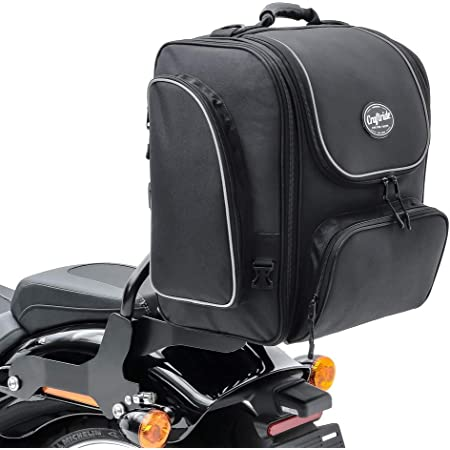 Saddlemen Br3400 Tasche Für Motorrad Sissy Bar Auto