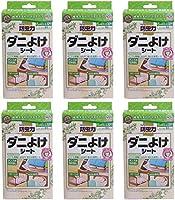 【まとめ買い】アース製薬 ピレパラアース防虫力 ダニよけシート 12枚入【×6個】