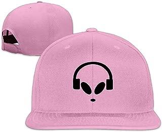 ZYXcustom Alien Dj Snapback Unisex Adjustable Flat Bill Visor Baseball Hat