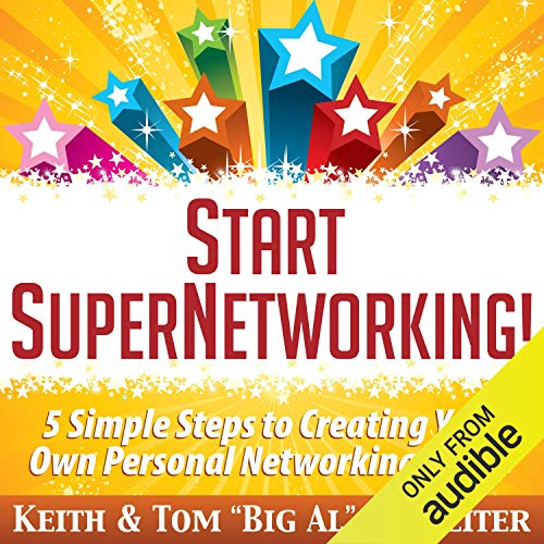 Page de couverture de Start SuperNetworking!
