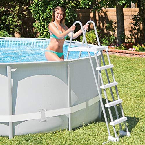 Scaletta Intex con piattaforma per piscine fino a 132 cm vers. 2018