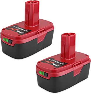 Biswaye 2Pack 5.0Ah 19.2V C3 XCP Lithium Ion Battery Replacement for 19.2-Volt Craftsman C3 Lithium Battery 130211004 11375 11045 130279005